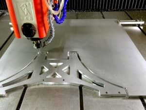 CNC Router Cutting Aluminium