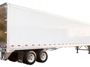 Refrigerated Trailer Side View