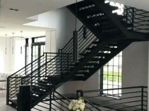 Wrought Iron Staircase Aluminum and Steel Staircases Steel Staircase